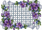 All About Violets Embroidery Designs