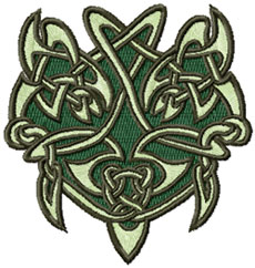 Celtic Lace Symbols Embroidery Designs