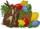 Colorfull Easter Embroidery Designs