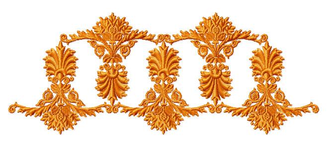 ABC DESIGNS Amber Ornaments Machine Embroidery Designs 5x7