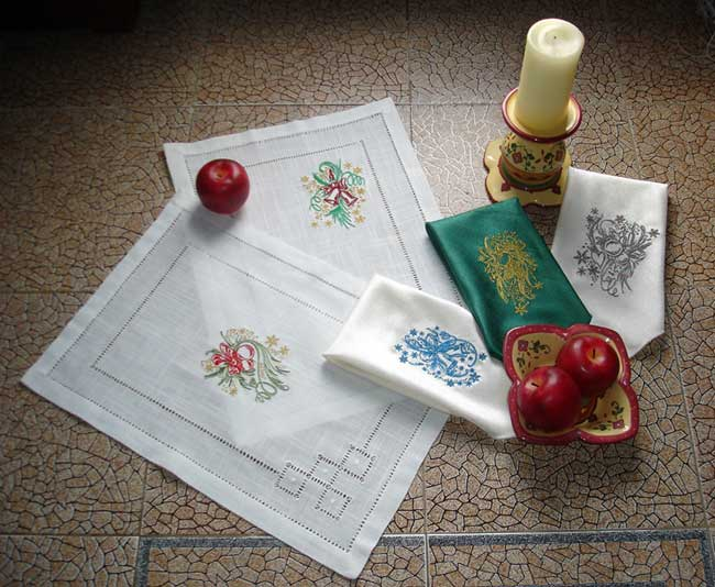 Abc embroidery projects christmas beauty
