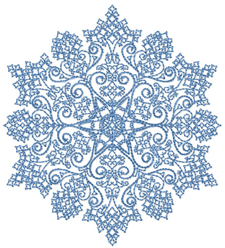 EMBROIDERY SNOWFLAKE DESIGN   Ideas For Embroidery