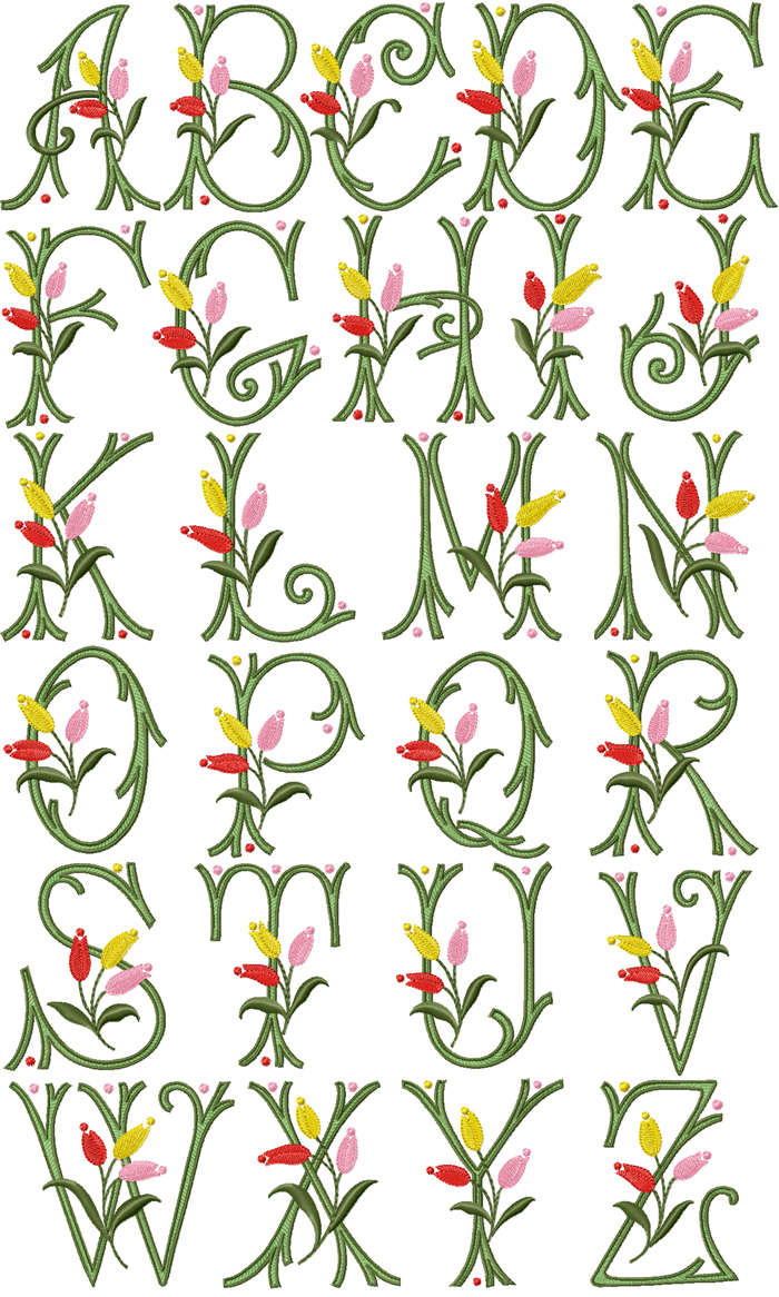 Alphabet Embroidery Design For Baby 35 Free Embroidery