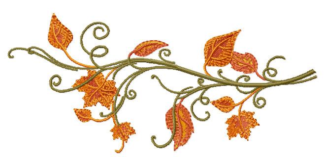ABC Designs Fall Motifs Machine Embroidery Designs SET FOR5X7 Hoop | EBay