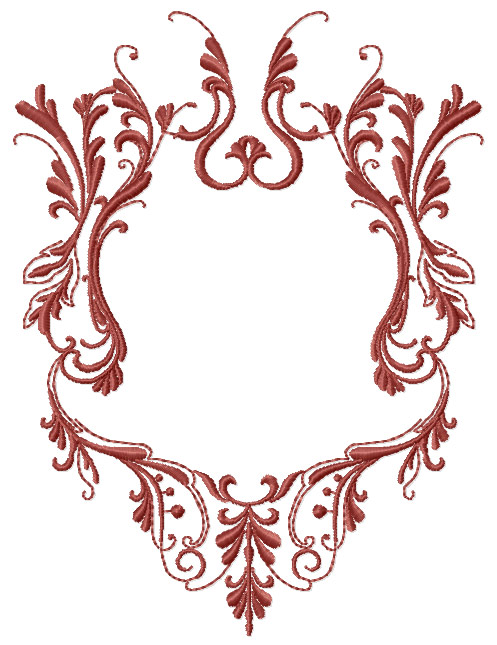 machine embroidery frame designs