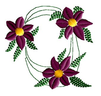 3D Flower Embroidering - Embroidery industry resource center