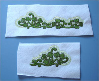 Stand Alone Embroidery Designs : Freestanding lace astitch ahalf