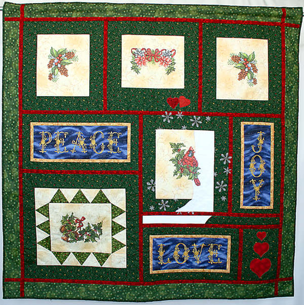 Abc embroidery projects christmas quilt